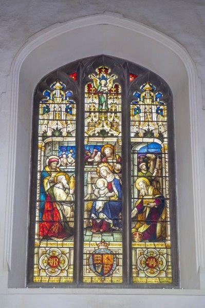Church windows - Queen Victoria Memorial