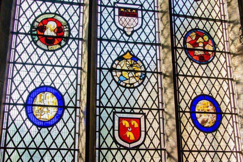 Church windows - medieval glass